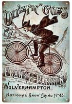 Olympic Cycles made By Frank H. Parkyn Wolverhampton Sign - $25.74