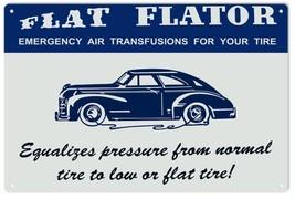 Nostalgic Tire Flat Flator Automobile Advertisement - $21.78