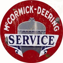 McCormick Deering Service Station and Gas Sign Reproduction - $25.74