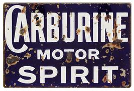 Reproduction Carburine Motor Spirit Sign - $25.74