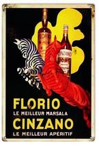 Reproduction Florio Cinzano Liquor Sign - $23.76