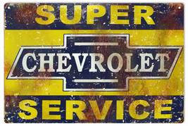 Reproduction  Super Chevrolet Service Sign - $25.74
