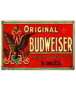 Reproduction Original Budweiser Beer Sign - $25.74