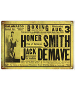 Homer Smith Pride of Kalamazoo Jack DeMare Champion of Holland Sign - $25.74