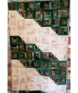 Holiday Log Cabin Quilt - $30.00