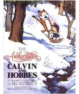 (28F20B2) Authoritative Calvin & Hobbes Treasury Bill Watterson Funny Pa... - $14.99