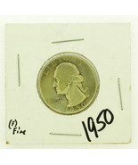 1950 United States Washington Quarters Dollar 90% Silver RATING: (F) Fin... - $3.94 CAD