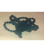 Sea Cap Green Pom Pom trim 1 yard hand-dyed cross stitch Dames of the Ne... - $2.80