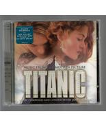 MUSIC FROM THE MOTION PICTURE  * TITANIC *   CD THEME SONG by CELINE DION - $3.00