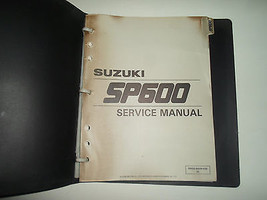 1984 Suzuki Sp600 Service Shop Repair Manual Binder Stained Factory Oem Book 84 - $31.67