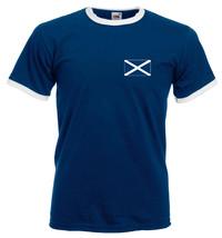 Scotland T Shirt - Ringer Scottish flag tee - $12.90