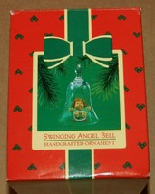 1985 HALLMARK SWINGING ANGEL BELL - $1.98