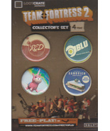 Team Fortress 2 Collectors Button Set - $8.50