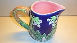 Andrea Creamer J. Willfred Charles Sadek Lily of The Valley Cobalt Green... - $13.50