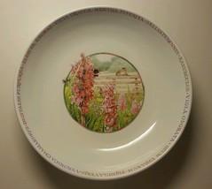 Wildflower Meadow Serving Bowl Marjolein Bastin Bees Flowers Birds Veget... - $15.00