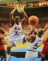 SHAQUILLE O'NEAL Autographed SIGNED 11'' x 14'' photo COA 1993 ROY ORLAN... - £163.48 GBP