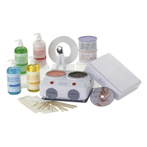 Satin Smooth Double Wax Warmer Kit [Health and 50 similar items