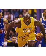 SHAQUILLE O'NEAL Autographed HAND SIGNED 11'' x 14'' photo L.A. LAKERS w... - £115.28 GBP