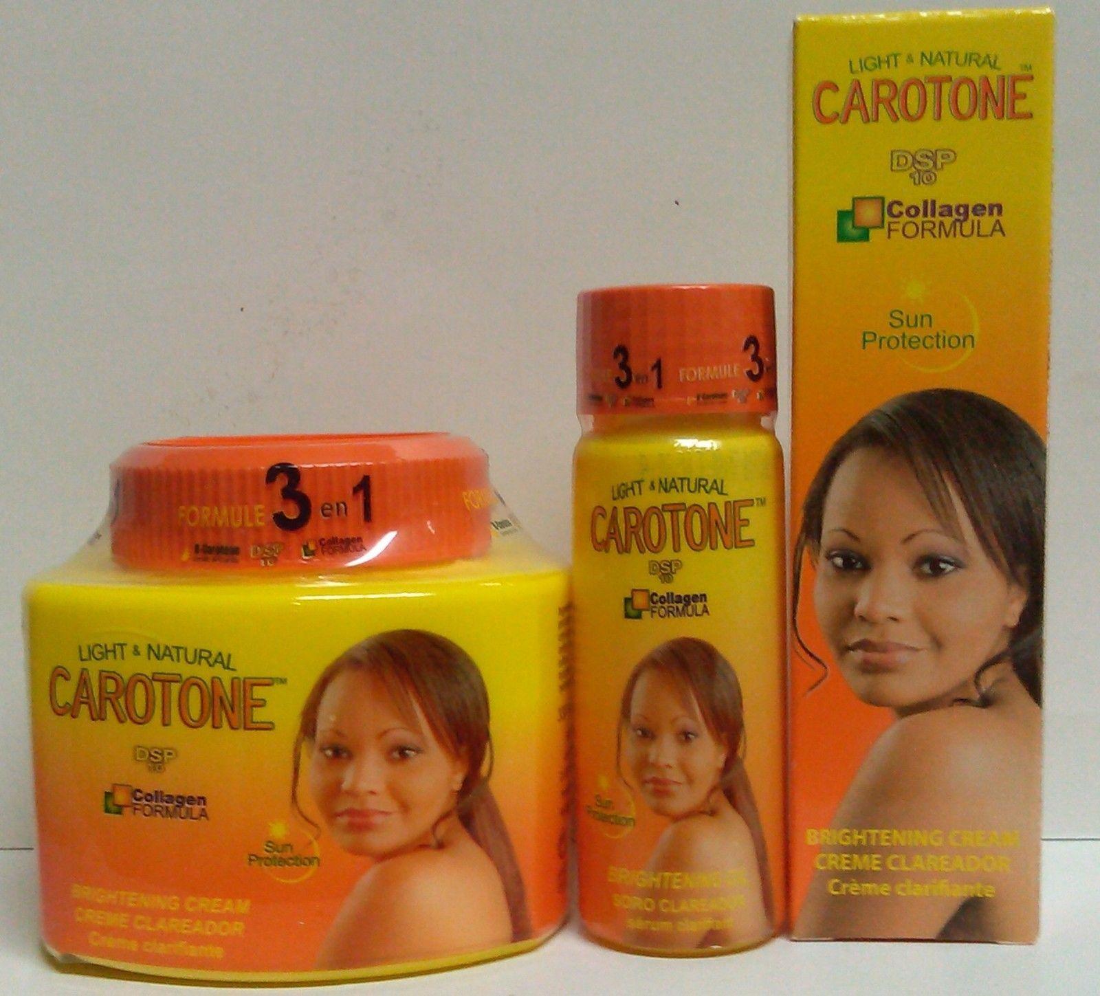 CAROTONE (GANDOUR) 3 LOT! Brightening Jar&Tube Cream and Oil 330ml/CARROT OIL - $25.99