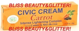 Civic Carrot Intense Lightening Cream With Carrot Oil&Extract, Kojic,Shea 40mg - $9.99
