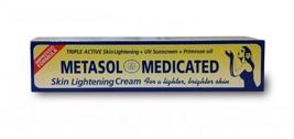 Metasol Triple Active Skin Lightening Cream/Primrose oil+UV Sunscreen 1.... - $8.59