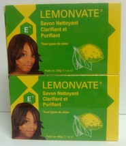 Lemonvate E 2 LOT! Skin Radiance&Cleansing Bar Soap 200g Each/Vegetable ... - $17.74