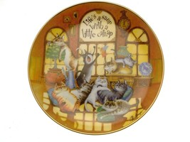 The Wonderful Wisdom of Cats Lifes a Snap Cat Collector Plate GB44 - $40.84