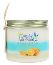 Florida Salt Scrubs Orange Body Feet Hands Bath Salt Scrub 24.2 oz Jar - $29.99