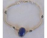 Blue agate bracelet 2 thumb155 crop