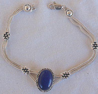 Blue -bracelet