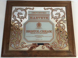 Harveys Bristol Cream Mirror VINTAGE BAR MIRROR RARE 1980 - $49.50