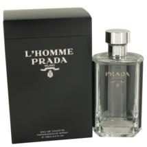Prada L'Homme Prada 3.4 Oz Eau De Toilette Cologne Spray image 1