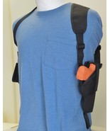 Vertical Shoulder Holster for RUGER LC9 w/ Underbarrel Laser & Single Ma... - $28.61