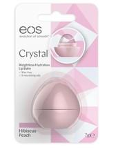 Eos Crystal Hibiscus Peach Lip Balm 7g - $11.40