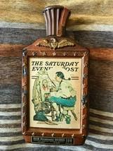 """1976 Bicentennial Jim Beam """"The Saturday Evening Post"""" Bottle GD/VG cond - $8.00"""
