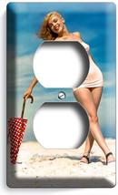 Marilyn Monroe Sexy Beach Bikini Electrical Duplex Outlet Wall Plate Cover Decor - $8.09