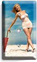 Marilyn Monroe Sexy Beach Bikini Telephone Phone Jack Wall Plate Art Decor Cover - $8.90
