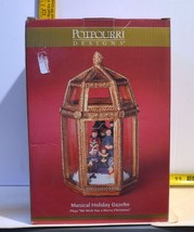 Potpourri Designs Musical Holiday Gazebo Plays We Wish You A Merry Chris... - $10.89