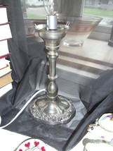 International Silver Company Silver Plated Lamp... - $29.70