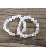 Clear Quartz Bracelet, Healing, chakras, boho, ... - $9.99