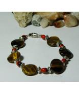 Woman Bracelet amulet Tiger Eye woman bracelet,... - $19.99