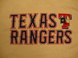 MLB Texas Rangers Major League Baseball Fan Gildan Apparel T Shirt XL - $15.10