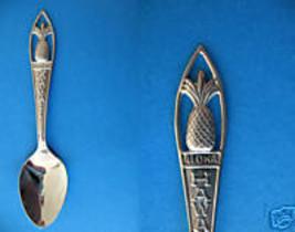 HAWAII Souvenir Collector Spoon Collectible STATE Hawaiian PINEAPPLE  - $4.95