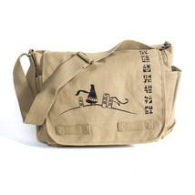 Naughty Dog Journey History Messenger Bag + Strap /w LOGO - 15 x 11 x 6 - $128.99