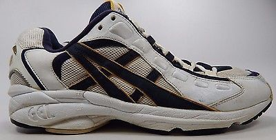 Asics Vintage Gel Athletic Men's Running Shoes Sz US 13 M (D) EU 48 White TN821