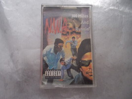 N.W.A. 100 MILES AND RUNNIN' CASSETTE  1990 - $12.99