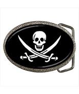 Pirate Flag Belt Buckle - $9.65