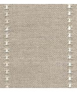 "27ct Celeste Natural/Natural banding 3.1""w x 18"" (1/2yd) 100% linen Mill... - $6.75"