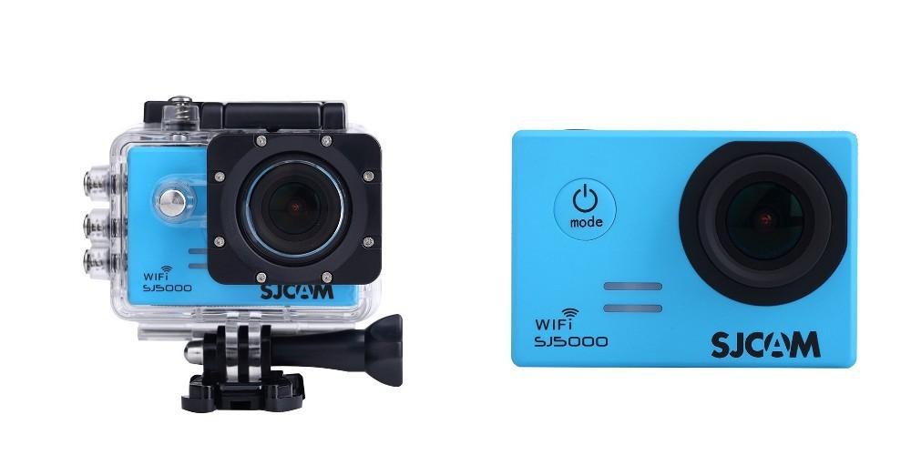 "sjcam sj5000 wifi novatek 96655 blue 2.0"" screen hd 1080p action sports camera"