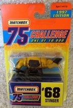 Matchbox Gold Stinger 68 75 Challenge 1 of 10000 1997 - $3.00